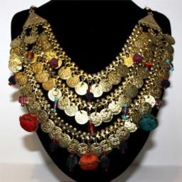 Collar Dorado Monedas