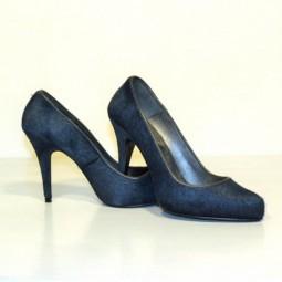 Zapatos potro azul